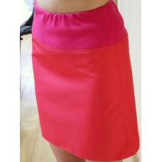 Skirt with knit